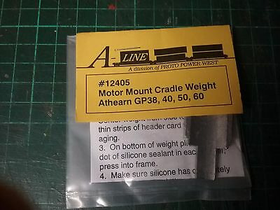 A-Line 12405 Motor Mount Cradle for Athearn GP38/40/50/60