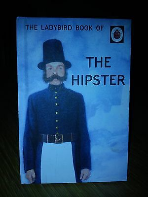 BNWOT Ladybird The Hipster Book (Adult) Spoof  Parody