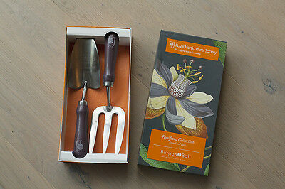 Gardening trowel and fork burgon&ball Royal Horticultural Society - New in box