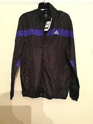Mens Size M Adidas Climalite Running Jacket - BNWT