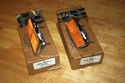 Nos 1970 Mustang Boss 302 429 Mach 1 Front Side Marker Lamps 70