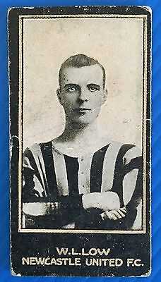 Smiths 1912 Footballers Wilfred Low Newcastle United Aberdeen Scotland