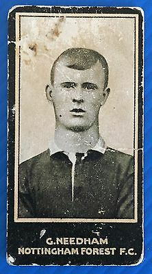 Smiths 1912 Footballers George Needham Nottingham Forest