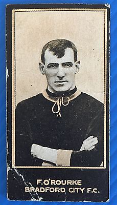 Smiths Footballers 1912 Frank O'Rourke Bradford City Airdrie Albion Rovers