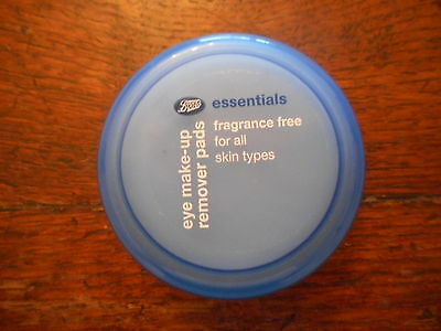Boots Fragrance Free Eye Make-Up Remover Pads x 40 All Skin Types