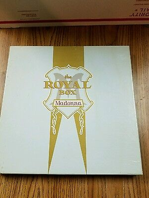 Madonna - The Royal Box - The Immaculate Collection Cass +VHS +Poster +Postcards