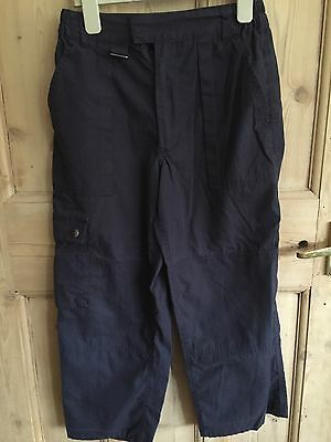 Blue Scout Trousers Age 11/12