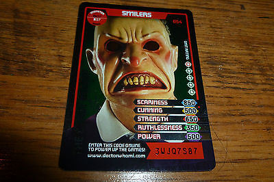 Smilers The Beast Below -Doctor Who Foil Trading Card 054