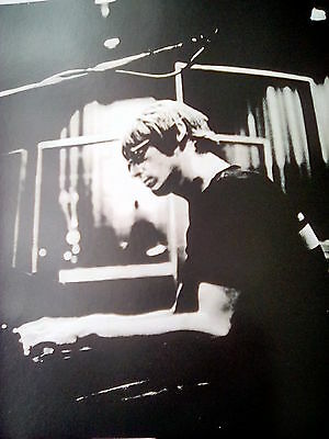 Iconic Paul Weller in Studio 1994 Page from Music Book 18x18cm Jam