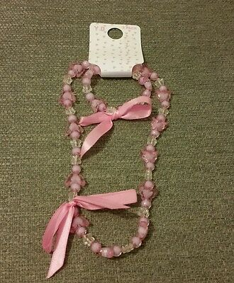 Young girls Primark Bracelet & Necklace Set