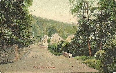 Llanelly Cwmbach 1904 Rb Co Postcard