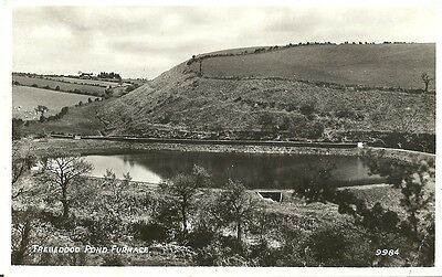 Llanelly Furnace Trebeddod Pond Real Photo Postcard By R.a. Series 1951