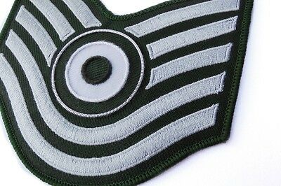 Green Chevron Roundel Patch Badge Parka Green Shoulder Chevrons Mods Scooter