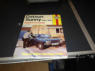 DATSUN SUNNY 120Y & 1200 Owners MANUAL