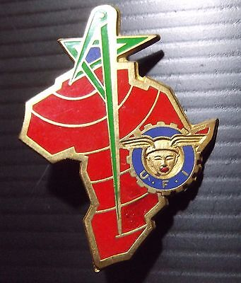 Military Badge Africa Union of International Forces Morocco