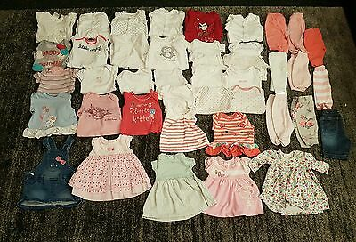 Tiny baby/ first size/ newborn girls clothes bundle 42 items