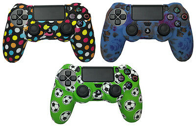 Silicone Rubber Skin Case Gel Cover Grip for Playstation 4 PS4 Controller