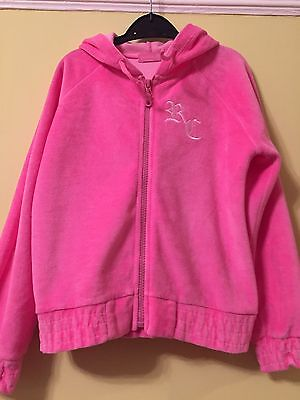 Pink Girls Hoodie Sporty Age 7-8 Excellent Condition