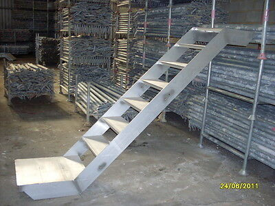 Aluminium stair, Scaffold stair, Z-shaped stair, 1.5m rise, ON SALE!