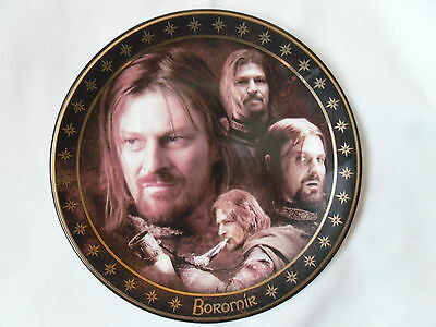 Boromir Decorative Collectors Plate Made By Cards Inc.