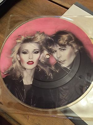 "DOLLAR - You Take My Breath Away 7"" Vinyl Picture Disc Single from 1981"