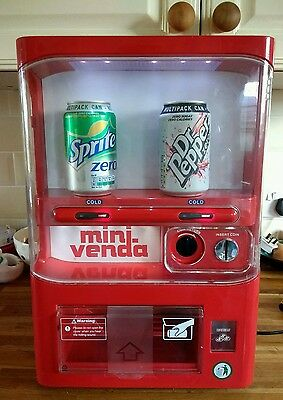 Mini-venda personal can vending machine fridge