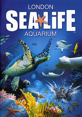 Two London Sealife tickets