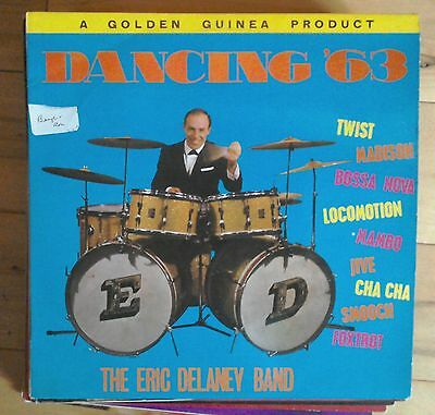 Eric Delaney Band - Dancing '63 Golden Guinea GGL 0191 lp