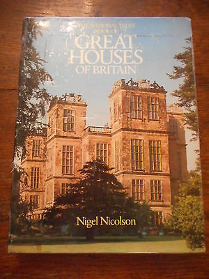 The National Trust Book Of Great Houses Of Britain Hardback Book