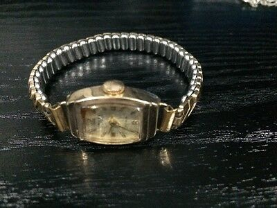 Antique Rolled Gold Tops Ladies Watch