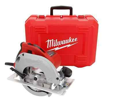 New Milwaukee 15 Amp 7-1/4 in TILT-LOK Circular Saw Blade Corded Power Tool Case