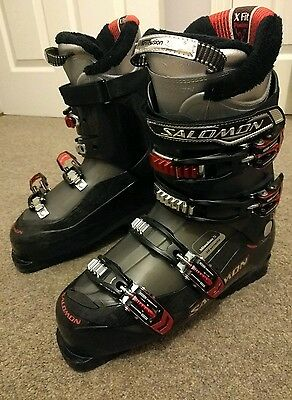 Salomon Mission 5 ski boots - Black, Grey and Red