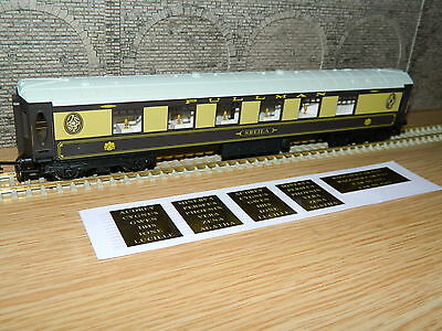 Hornby SHEILA white roof VSOE British Pullman style Coach plus VSOE Decals