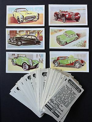 Cigarette Cards & Collectables **Robert Miranda, 100 Years Motoring, Set 50**