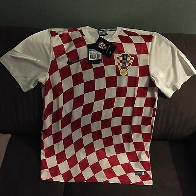 Nike Croatia Football Top In Medium
