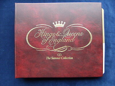 Kings & Queens of England - The Sumner Collection - Informative Covers to QE II