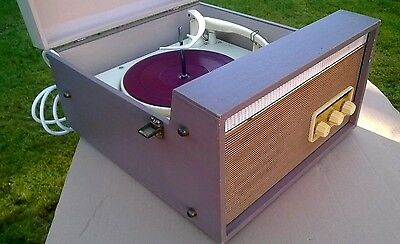 FERRANTI RECORD PLAYER VINTAGE RECORD PLAYER FERRANTI VALVE RECORD PLAYER retro
