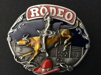 New Western Rodeo Cowboy Belt Buckle