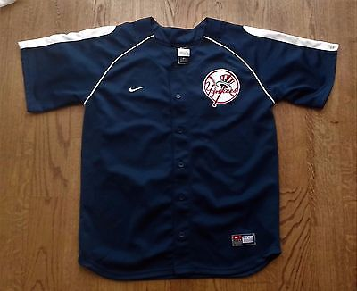 MLB New York Yankees blank jersey by Nike SEWN Youth XL (20)