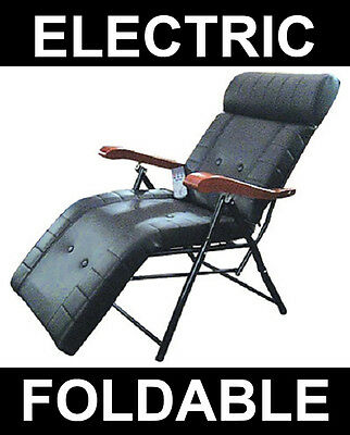 Electric Massage Chair Foldable Recliner Portable