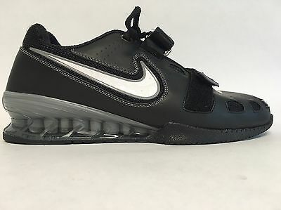 Nike Romaleos 2 Men's Sz 11.5 Black (Weightlifting Shoes) Pre-owned