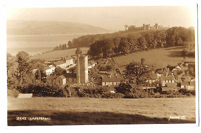 Llansteffan Lanstephan Llanstephan CASTLE WELSH WALES OLD RP PHOTO POSTCARD