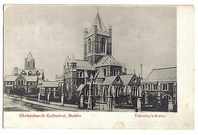 CHRISTCHURCH CATHEDRAL DUBLIN EIRE Ireland OLD POSTCARD