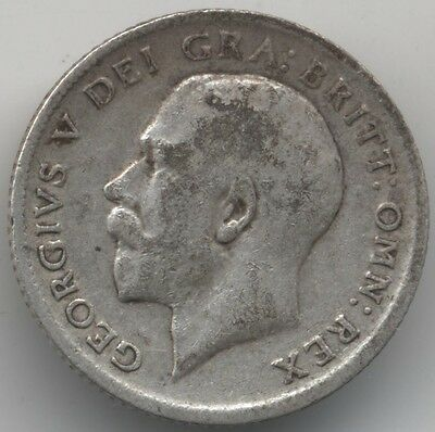 1916 George V Silver sixpence***Collectors***(S1)