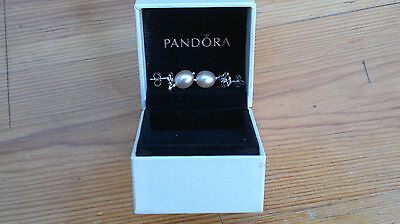 Genuine Authentic Pandora Silver Earrings
