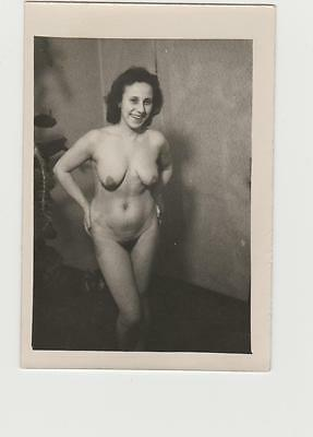 Vintage Amateur Privat Akt Foto  Nu Home Nude Photo  Snapshot 1950   Fkk