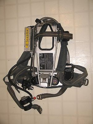 Scott 2.2 SCBA Wireframe Firefighter Air Pak with Mask