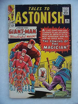 Tales To Astonish #56 Fine/f+      Giant-Man & Wasp