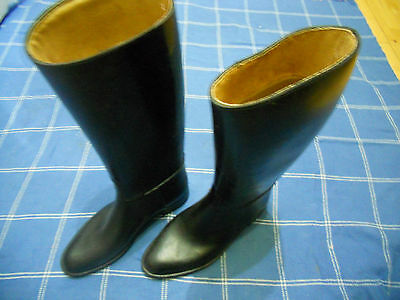 Rubber Riding Boots Size 41 UK size 7