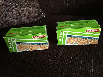 Subbuteo 61168 Unpainted Crowd Pack X 2